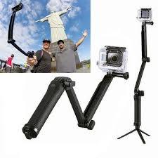 Для спортивной экшн-камеры <b>Go Pro</b> палка <b>3 Way</b> сцепление