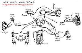 cb750wiring custom chopper wire diagram wiring diagram and fuse box diagram on 110cc dirt bike with headlight wiring
