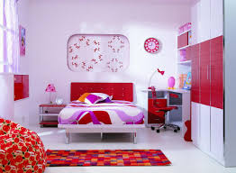 colorful area rug idea also modern children bedroom furniture with red and white paint plus quirky boys bedroom furniture ideas