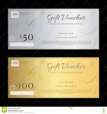 gift voucher or gift certificate template in luxury theme stock gift voucher or gift certificate template in luxury theme