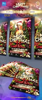 graphicriver christmas flyer template 4x6 graphicriver christmas flyer template 4x6