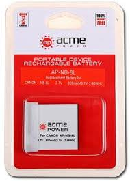 <b>Аккумулятор AcmePower NB</b>-8L купить недорого в Минске, обзор ...