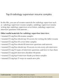 topradiologysupervisorresumesamples lva app thumbnail jpg cb