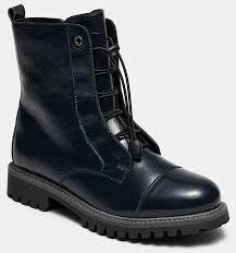 <b>Высокие ботинки</b> женские ASPEN (цвет синий, наплак) — купить ...