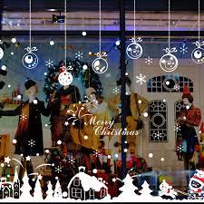 <b>Christmas Ornament Cartoon Cute</b> Glass Stickers Personalized ...