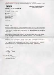 How to reject candidates without turning them off your brand ... A famous rejection letter allegedly from the BBC