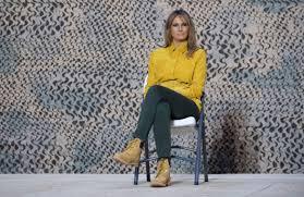 <b>Melania</b> Trump mocked for Timberland <b>boots</b> in Iraq