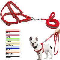<b>Tuff Hound</b> Step-In Strap <b>Dog</b> Harness <b>Nylon Reflective</b> - Large | eBay