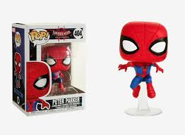 <b>Funko Pop Spider</b>-<b>Man</b> into the Spiderverse: Peter Parker Bobble ...