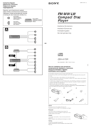 sony xplod 52wx4 stereo wiring diagram wiring diagram and sony cdx m600 wiring harness diagram car