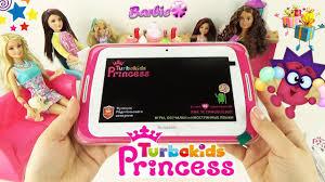 Детский <b>планшет</b> TurboKids Princess подарок от Барби для ...