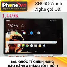 Điện thoại Sharp Aquos Pad Sh05G 7Inch nghe gọi tốt , 4g LTE ok ...