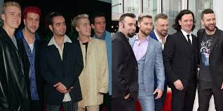 THEN AND NOW: Boy-band members from the