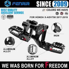 <b>Footrest</b> Motorcycle <b>Foot Pegs</b> Rest <b>Footpegs</b> for Honda <b>Xadv 750</b> X ...