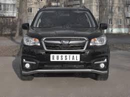 <b>Передняя защита 63мм</b> Russtal для Subaru Forester (2016-2018 ...