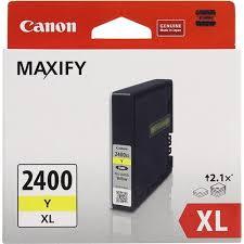Оригинальный <b>картридж Canon PGI</b>-2400XL Y (желтый ...
