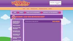 renewable energy page ridgeblade reg  the children s university of manchester middot education renewable energy