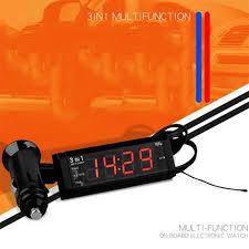 <b>Car clock car thermometer</b> Decoration <b>Electronic</b> Meter <b>clock digital</b> ...