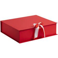 <b>Коробка на лентах Tie</b> Up, красная (артикул 10600.50) - Проект 111