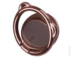 <b>Держатель кольцо Baseus Bear</b> Finger Metal <b>Ring</b> Grip Stand Brown