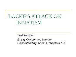 Enlightenment Grudge Match  Locke Versus Hobbes Essential Question     JOHN LOCKE  An Essay Concerning Human Understanding     The fifteenth edition