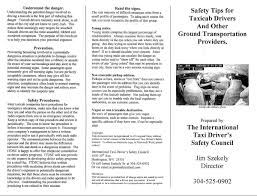 taxi safety and homicide prevention page 1