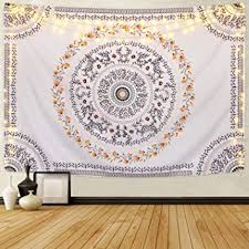 Sevenstars Bohemian Mandala Tapestry Hippie Floral ... - Amazon.com