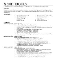 cleaner resume template template cleaner resume template