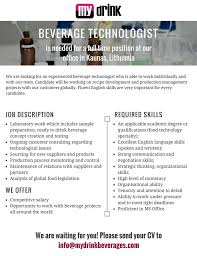 mydrink beverages linkedin beverage technologist png