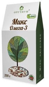 Смесь семян Оргтиум <b>Микс Омега</b>-<b>3</b> 200 г — купить по выгодной ...