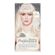 <b>L'Oréal Paris Recital Preference</b> Platinum Permanent Hair Colour ...