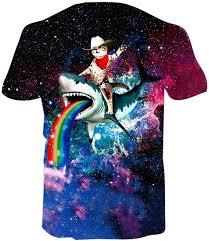 Goodstoworld Unisex <b>3D Printed T Shirt</b> Personalized Summer ...