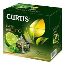 <b>Чай Curtis</b> Fresh Mojito <b>зелёный</b> (20 пирамидок) — купить в ...