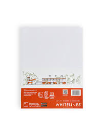 whitelines writing paper and notebooks white lines all purpose paper 8 5 x 11