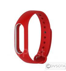 Силиконовый <b>Ремешок</b> для Xiaomi Mi Band 2 <b>Red</b>! Оригинал ...