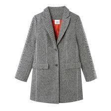 <b>Пальто прямое</b> унисекс серый меланж Koché X <b>La Redoute</b> | La ...