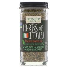 Frontier Natural Products, <b>Herbs of Italy</b>, <b>Italian</b> Blend of Aromatic ...