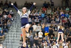 lu squad creates spirit farmville senior cheerleader lauren giles photo by mike kropf longwood university