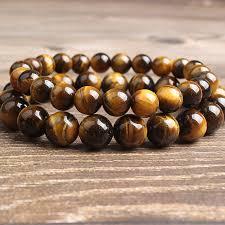 <b>LanLi</b> 8mm <b>fashion natural</b> Jewelry Yellow Tiger Eye stone beads ...