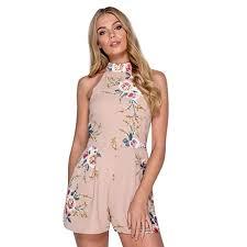2018 <b>Summer Sexy</b> Shorts <b>Jumpsuits</b>, <b>Women</b> V-Neck Fashion High ...