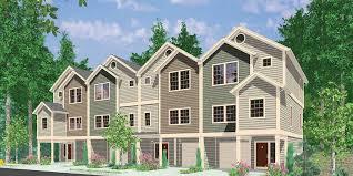 Plex House Plans  Multiplexes  QuadPlex PlansF  Four plex house plans  unit multi family house plans