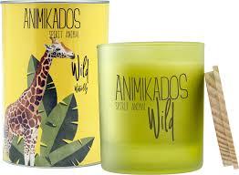 <b>Свеча ароматическая Ambientair</b> Giraffe - водная лилия Wild 40 ч