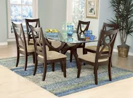 Contemporary Round Dining Table For 6 Dining Room Cool Designer Glass Tables Contemporary
