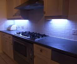 Under Cupboard Lights Kitchen How To Fit Led Kitchen Lights With Fade Effect All