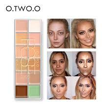 Купить O. два. O 12 Цветов Косметическая <b>камуфляж</b> ...