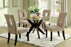 40 inch round pedestal dining table:  small round glass dining table and chairs  with small round glass dining table and chairs