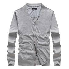Oufisun <b>Autumn New</b> Thick Fashion Brand <b>Sweater Cardigan</b> Men ...