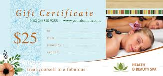 form template spa gift certificate template word massage spa gift certificate template word spa gift certificate template fill in