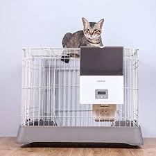 WSW Cage-type Pet <b>Feeding Machine</b> Timing Quantitative Cage ...