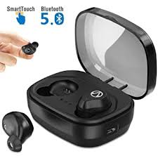 TWS <b>Touch Control Bluetooth</b> 5.0 3D Bass Sound Wireless: Amazon ...